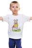 """Детская футболка классическая унисекс """"Мёд и клевер"""" - мультфильм, аниме, япония, ханамото хагуми, мёд и клевер"""