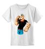"""Детская футболка классическая унисекс """"Попай/Popeye"""" - popeye, попай, sailor, моряк, моряк попай"""