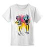 "Детская футболка классическая унисекс ""NikeArt"" - магнитофон, бумбокс, boombox, кассетник"
