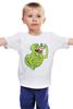 """Детская футболка классическая унисекс """"Лизун (Обжорка)"""" - охотники за привидениями, привидение, ghostbusters, лизун"""