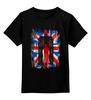 """Детская футболка классическая унисекс """"Доктор Кто"""" - британский флаг, доктор кто, тардис, doctor who, uk"""