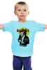 """Детская футболка """"Человек в чёрном"""" - комиксы, batman, супергерои, бэтмен, летучая мышь"""