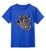 """Детская футболка классическая унисекс """"Bulldog"""" - арт, собака, бульдог, bulldog"""