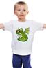 """Детская футболка """"зелёный змий"""" - прикол, cartoon"""
