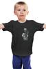 """Детская футболка классическая унисекс """"Цветочная принцесса"""" - style, цветы, стиль, girl, мода, fashion, лилия, лилии, декор"""
