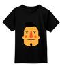 """Детская футболка классическая унисекс """"Борода VIII"""" - борода, усы, beard, mustache"""