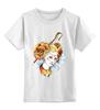 """Детская футболка классическая унисекс """"Долли"""" - девушка, мозаика, якро, овечка долли"""