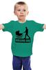 """Детская футболка """"The Walking Dad"""" - юмор, семья, отец, ходячие, игра слов"""