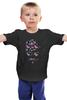 """Детская футболка """"Цветочный Хипстер"""" - цветы, хипстер, усы, hipster"""