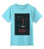 """Детская футболка классическая унисекс """"Seven / Семь"""" - афиша, kinoart, семь, seven"""