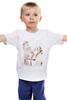 """Детская футболка классическая унисекс """"Поцелуй влюбленных"""""""