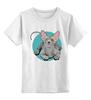 """Детская футболка классическая унисекс """"Сфинкс"""" - арт, котики, мими, сфинкс, nopperapon, sphynx"""