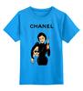 "Детская футболка классическая унисекс ""Chanel"" - юмор, духи, бренд, fashion, коко шанель, brand, coco chanel, perfume, karl lagerfeld, карл лагерфельд"