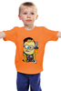 """Детская футболка """"Миньон Джесси Пинкман"""" - во все тяжкие, миньоны, breaking bad, гадкий я, джесси пинкман"""