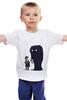 """Детская футболка классическая унисекс """"To New York"""" - приколы, йорк"""