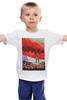 """Детская футболка классическая унисекс """"Космический туризм"""" - звезды, планета, космос, научная фантастика, постер"""