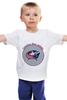 """Детская футболка """"Коламбус Блю Джекетс"""" - хоккей, nhl, нхл, columbus blue jackets, коламбус блю джекетс"""