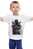 "Детская футболка ""защитник"" - арт, авторские майки, оружие, солдат, защитник отечества, спецназ"
