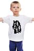 "Детская футболка классическая унисекс ""Kiss (Кисс)"" - kiss, кисс, глэм-рок, шок-рок"