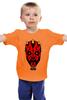 "Детская футболка ""star wars"" - star wars, dark side, звёздные войны, darth maul"