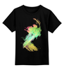 """Детская футболка классическая унисекс """"Smash"""" - яркий, color, bright"""