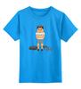 """Детская футболка классическая унисекс """"Тренер                   """" - спортсмен, бодибилдинг, качек, тренер"""
