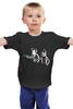 """Детская футболка классическая унисекс """"Футурама"""" - футурама, бендер, криминальное чтиво, фрай"""
