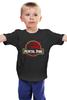 """Детская футболка классическая унисекс """"Мортал Комбат (Mortal Kombat)"""" - мортал комбат, парк юрского периода, jurassic park"""