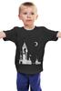 """Детская футболка """"""""Дедвиль"""""""" - любовь, арт, девушка, night, ночь, луна, moon, deadville"""