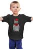"Детская футболка ""Кот Хипстер"" - кот, арт, style, прикольные, очки, cat, хипстер, swag, hipster, shades"