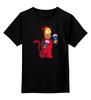 """Детская футболка классическая унисекс """"Гомер Дьявол"""" - simpsons"""