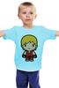 "Детская футболка классическая унисекс ""Ken (Street Fighter)"" - каратэ, файтинг, драка, street fighter, karate guy"