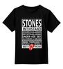 """Детская футболка классическая унисекс """"The Rolling Stones"""" - rock n roll, legends, рок-н-ролл, the rolling stones"""