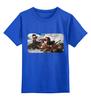 """Детская футболка классическая унисекс """"Борьба кентавров (Арнольд Бёклин)"""" - картина, живопись, мифология, бёклин, кентавр"""
