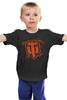 """Детская футболка классическая унисекс """"World of Tanks"""" - игры, world of tanks, танки, wot"""