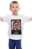 """Детская футболка классическая унисекс """"Заключенный"""" - авторские майки, friday 13th, jason, elm st, freddy krueger"""