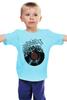 """Детская футболка """"Виниловая пластинка"""" - арт, винил, ноты, vinyl, грампластинка"""