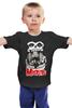 "Детская футболка ""Misfits band"" - punk rock, misfits, панк, anarchy, анархия"