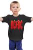 """Детская футболка классическая унисекс """"AC/DC"""" - рок, rock"""