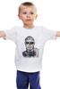 "Детская футболка ""Zombie boy                "" - татуировка, zombie boy, зомби бой, зомбибой"
