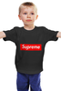 "Детская футболка ""Supreme "" - арт, supreme, nyc, clothing"