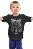 "Детская футболка ""Slipknot"" - slipknot, петля, удавка"