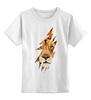 """Детская футболка классическая унисекс """"Лев (Lion)"""" - лев, lion, царь зверей, большая кошка"""