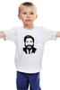 "Детская футболка классическая унисекс ""Zach Galifianakis"" - zach galifianakis, зак галифианакис"