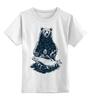 """Детская футболка классическая унисекс """"Медвежья рыбалка"""" - медведь, рыбалка, охота"""