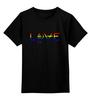 """Детская футболка классическая унисекс """"Love For Orlando"""" - lgbt, angelsandairwaves, tomdelonge, orlando, moonman"""