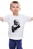 "Детская футболка ""One and Only "" - путин, putin, designministry, oneandonly, patriotic"