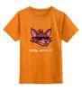 """Детская футболка классическая унисекс """"Foxy (Пять ночей у Фредди)"""" - 8-bit, deal with it, пять ночей у фредди, foxy"""