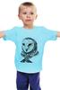 "Детская футболка ""Сова-2"" - owl, graphic"