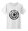 """Детская футболка классическая унисекс """"Captain America"""" - арт, marvel, superhero, капитан америка, captain america, первый мститель, щит"""